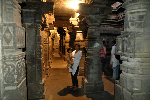 Bhuleshwar Shiva temple near Pune
