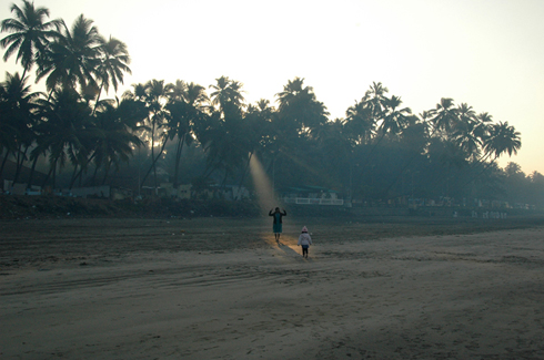 Sunrise on Murud Beach