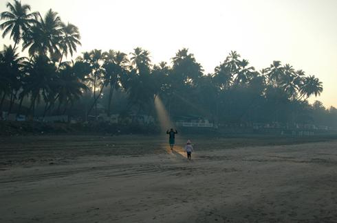 Sunrise on Murud Beach