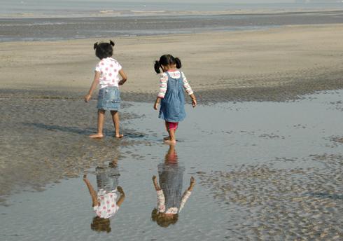 moti nani daman fort church beach