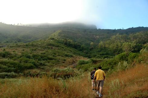 Purandar fort trek
