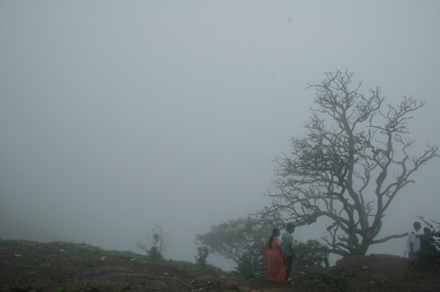 Shivling peak near lions point lonavala