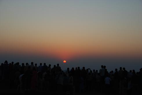Sunset point mahabaleshwar