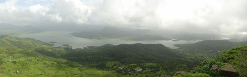 Lohagad Fort trek, near Lonavala