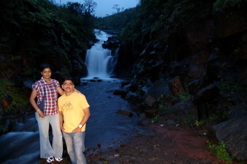 Varandha Ghat drive - waterfalls