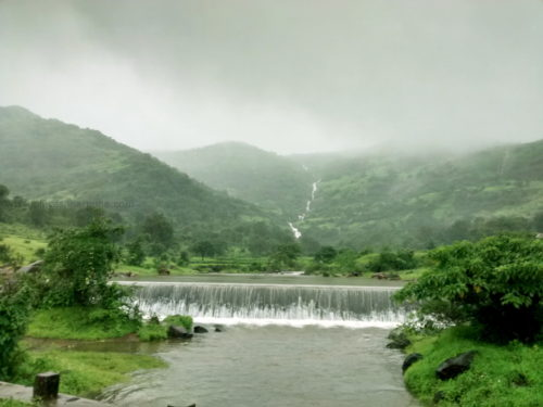 waterfall near pune road trip thokarwadi