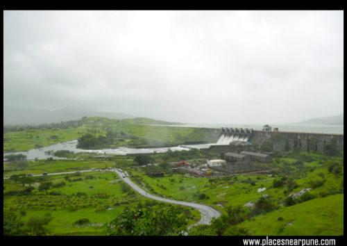 Pavana Dam near Lohagad